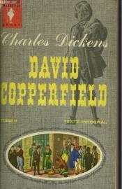David Copperfiels - Tome Ii - Couverture - Format classique