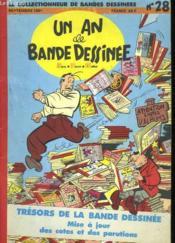 Un An De Bande Dessinee N°28 - Couverture - Format classique