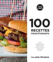 Les petits Marabout ; 100 recettes pour étudiants - Couverture - Format classique