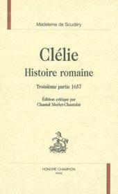 Clelie ; Histoire Romaine ; 3e Partie - Couverture - Format classique