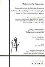 Philosophia Scientiae T10/1 2006 - Couverture - Format classique