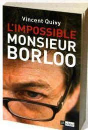 L'impossible monsieur borloo - Intérieur - Format classique