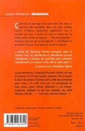 Dechainee - 4ème de couverture - Format classique