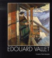 Édouard vallet - Couverture - Format classique