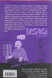 Usagi yojimbo t.10 - 4ème de couverture - Format classique