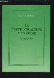 Le psychotraining autogene - Couverture - Format classique