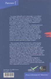 Les Frontieres Du Fantastique. Approches De L'Impensable En Litteratu Re - 4ème de couverture - Format classique