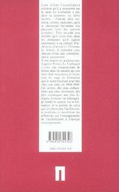 Lettres à Auguste Perret - 4ème de couverture - Format classique