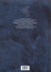 Meridionn T1 - L'Innommable - 4ème de couverture - Format classique