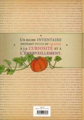 Inventaire illustré des fruits et légumes - 4ème de couverture - Format classique