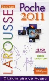 Dictionnaire Larousse de poche (édition 2011) - Couverture - Format classique