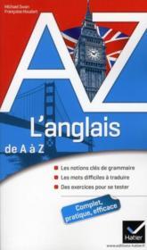 Anglais de A à Z - Couverture - Format classique