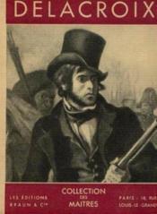 Eugène Delacroix - Couverture - Format classique