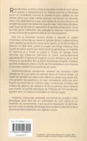 Rosa Bonheur, liberté est son nom - 4ème de couverture - Format classique