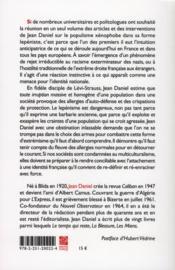 Coment peut-on être français ? écrits 1971-2011 sur l'immigration, le racisme et l'identité nationale - 4ème de couverture - Format classique