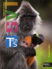 SVT ; terminale S, enseignement obligatoire ; manuel de l'élève - Couverture - Format classique