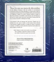 Hanouka ; fête des lumières - 4ème de couverture - Format classique