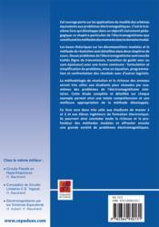Résolution de problèmes hautes fréquences par les schémas équivalents ; cours et exercices corrigés - 4ème de couverture - Format classique