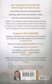 The Litigators - 4ème de couverture - Format classique