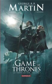Game of Thrones - le trône de fer T.1 - Couverture - Format classique