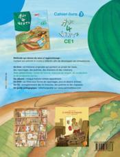 AUX 4 VENTS ; français ; CE1 ; cahier-livre t.3 - 4ème de couverture - Format classique