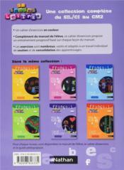EN TOUTES LETTRES ; français ; CM1 ; cahier d'activités - 4ème de couverture - Format classique