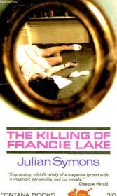 The Killing Of Francie Lake - Couverture - Format classique