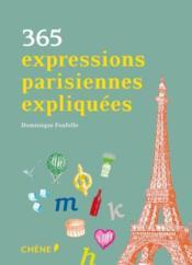 365 expressions parisiennes expliquées - Couverture - Format classique