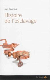 Histoire de l'esclavage - Couverture - Format classique