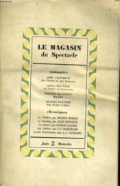 Le Magasin De Spectacle - Des Souris Et Des Hommes - Couverture - Format classique