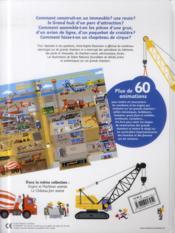Les grands chantiers animés - 4ème de couverture - Format classique