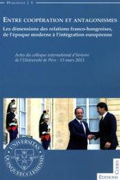 Entre coopération et antagonismes - livre - Couverture - Format classique