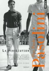 La persécution ; une anthologie (1954-1970) - Couverture - Format classique