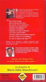 Virus ; Faut-Il En Avoir Peur - 4ème de couverture - Format classique