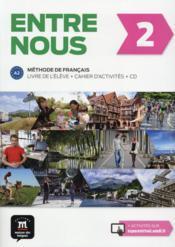 Entre nous 2 ; français ; livre de l'élève - Couverture - Format classique