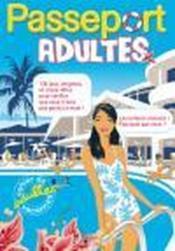 Passeport ; adultes (édition 2008) - Couverture - Format classique