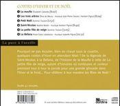 Contes d'hiver et de Noël - 4ème de couverture - Format classique