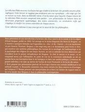 Les Deux Sources De La Morale Et De La Religion Bergson - 4ème de couverture - Format classique