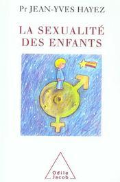 La sexualité des enfants - Intérieur - Format classique