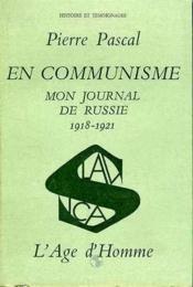En communisme mon jounal de russie 1918 - 1921 t2 - Couverture - Format classique