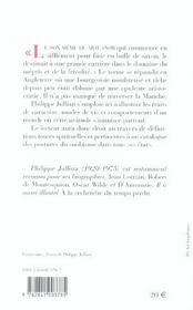 Dictionnaire du snobisme - 4ème de couverture - Format classique