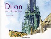 Dijon, carnet d'artiste - Intérieur - Format classique