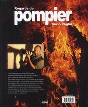 Regard de pompier - 4ème de couverture - Format classique