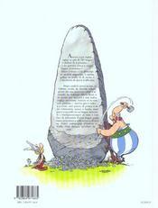 Asterix gira è volta... à a scola - 4ème de couverture - Format classique