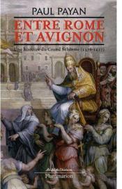 Entre Rome et Avignon ; une histoire du Grand Schisme, 1378-1417 - Couverture - Format classique