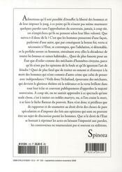 Revue Commentaire N.123 - 4ème de couverture - Format classique