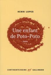 Une enfant de poto-poto - Couverture - Format classique