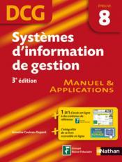 telecharger Systemes d'information de gestion – epreuve 8 – DCG – eleve 2012 livre PDF en ligne gratuit