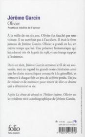Olivier - 4ème de couverture - Format classique