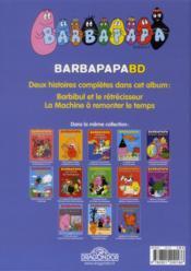 Les drôles d'inventions de Barbibul - 4ème de couverture - Format classique